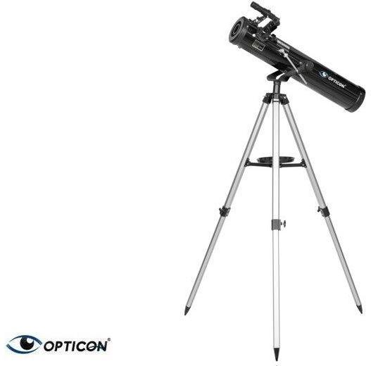 Teleskop Astronomiczny OPTICON PULSAR (pow. 525x!) + Duży Statyw + Mapy/Plakaty Nieba + Program itd.