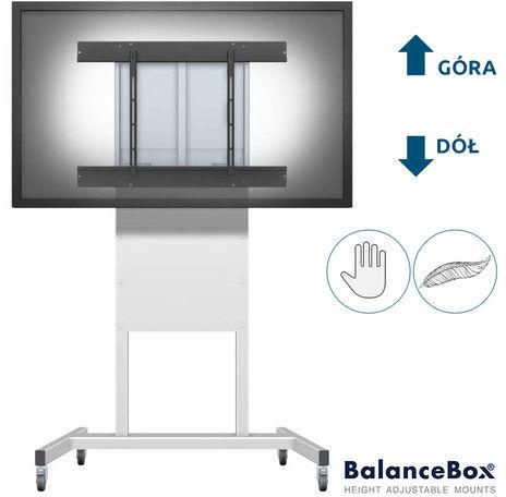 Statyw do monitora interaktywnego (66-95 kg) Balance BOX 400-90