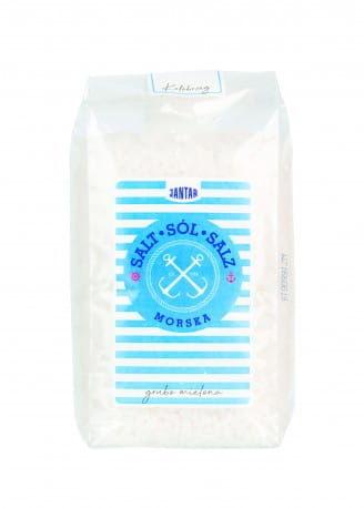 Sól morska grubo mielona 600 g - jantar
