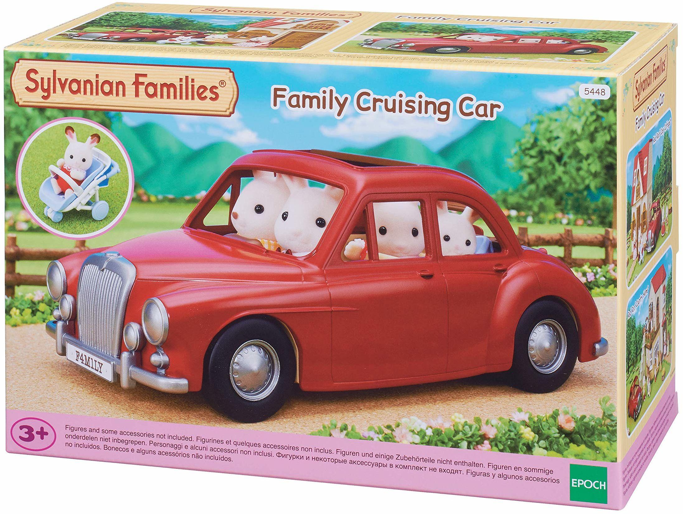 Sylvanian Families 5448 rodzinny rejs samochód pojazd zestaw do zabawy