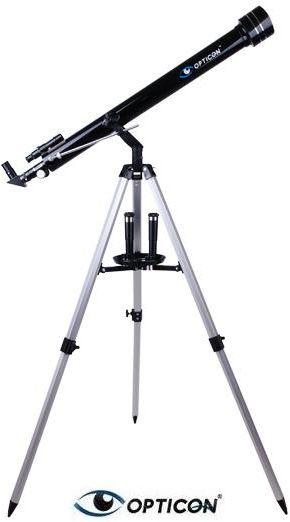 Teleskop Astronomiczny OPTICON PERCEPTOR EX + Duży Statyw + Płyta DVD + Mapy/Plakaty + Akcesoria.