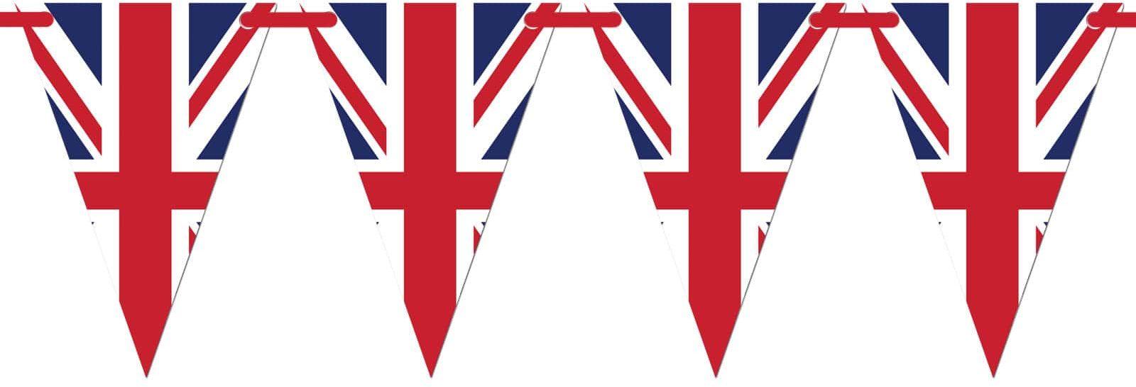 Baner wiszący Flaga Wielkiej Brytanii - 5 m