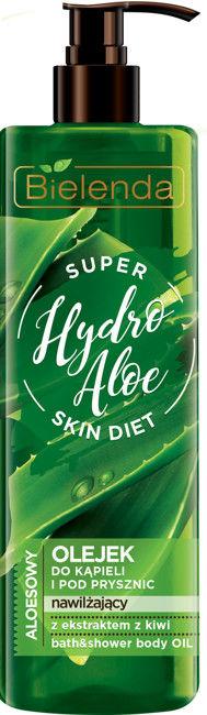 Bielenda Super Skin Diet Hydro Aloe Olejek do kąpieli i pod prysznic 400ml