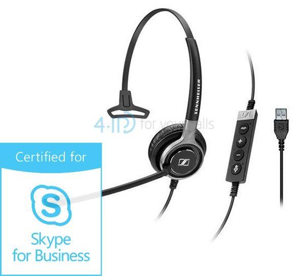 Sennheiser SC 630 USB ML słuchawka z mikrofonem do PC (złącze USB-A)