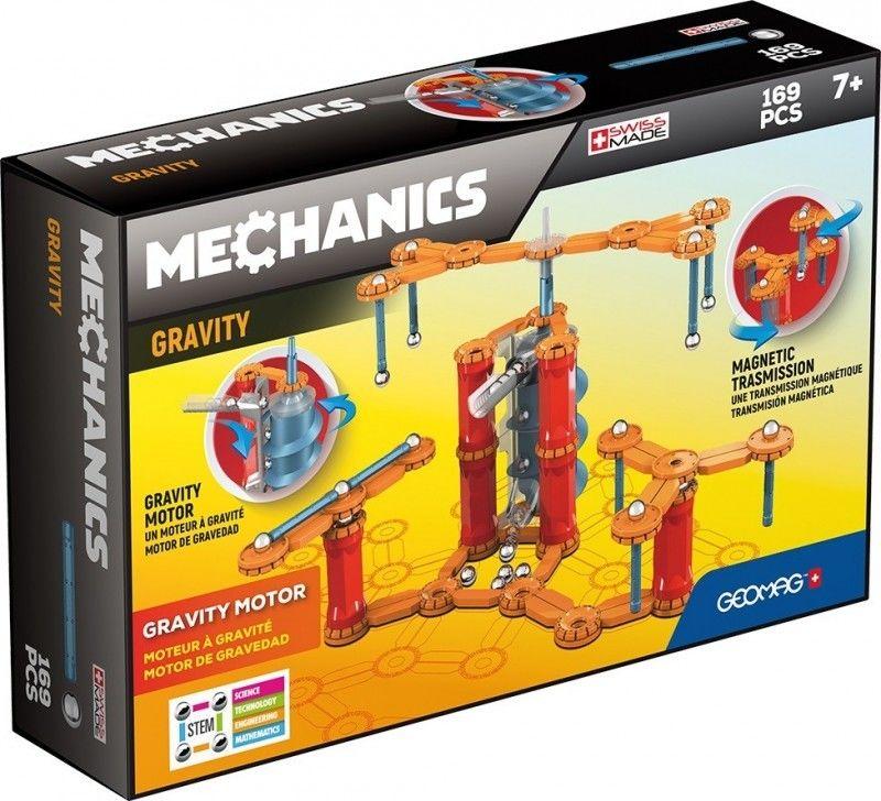 GeoMag - Klocki magnetyczne - Mechanics Gravity Silnik Grawitacyjny 169 el. 773