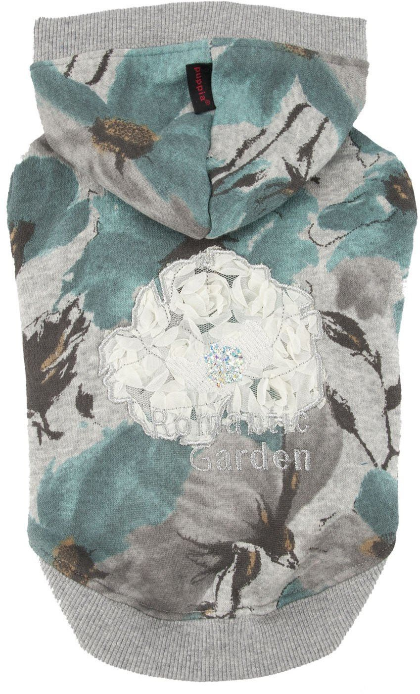 Pinkaholic New York NAPD-TS7166 Romantic Garden Shirt, S, niebieska