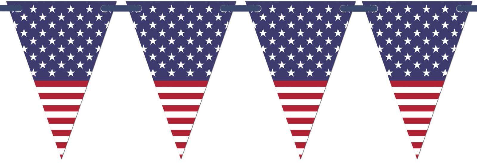 Baner wiszący Flaga Stanów Zjednoczonych - 5 m