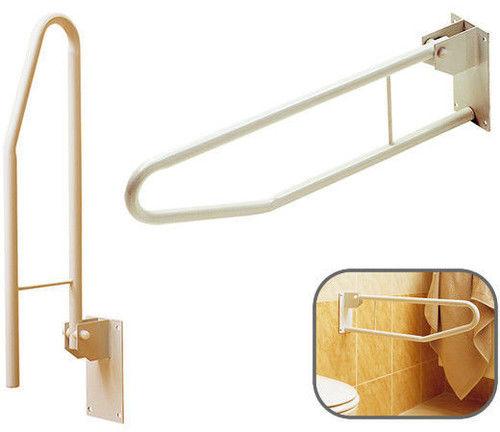 Uchwyt uchylny - łazienkowy dla niepełnosprawnych (loop thu)