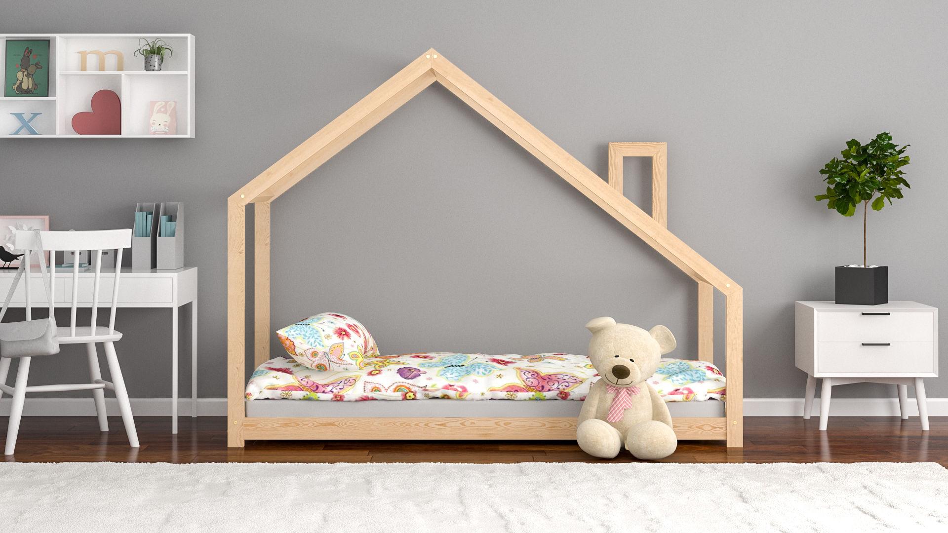 Łóżko domek dla dzieci Claire