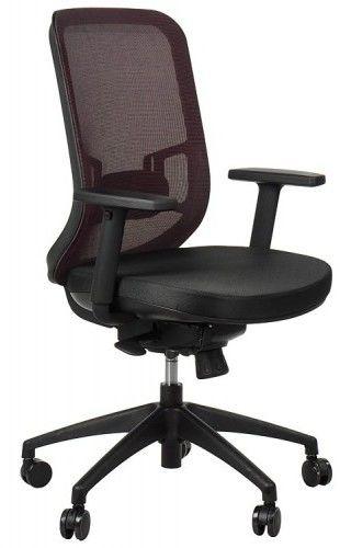 Krzesło obrotowe biurowe GN-310/BORDO z wysuwem siedziska - Stema