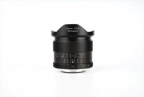 Obiektyw 7Artisans 12 mm f/2.8 Micro 4/3