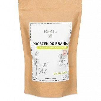 BioGa Ekologiczny Proszek do prania białego 1kg