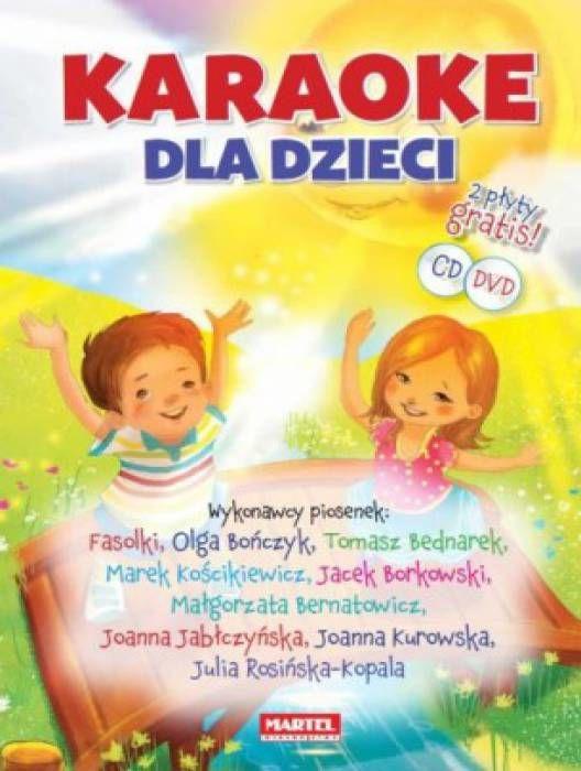 Karaoke dla dzieci +CD/DVD