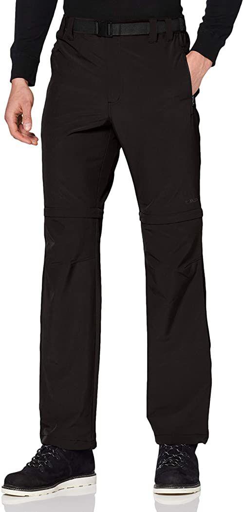 CMP Męskie spodnie z odpinanymi nogawkami czarny Schwarz(nero) 56