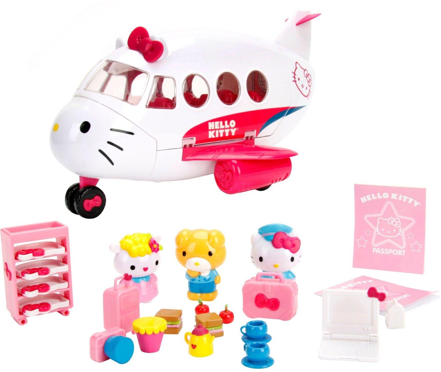 Hello Kitty - Odrzutowiec z figurkami 3248000