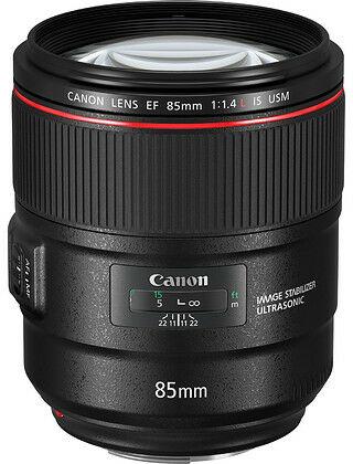 Obiektyw Canon EF 85mm f/1.4L IS USM + Gratis Adapter Canon EF-EOS R - Gotowy do pracy z bezlusterkowcem Canon EOS R