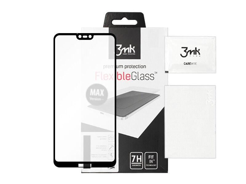Huawei P20 Lite - szkło hartowane 3MK FlexibleGlass Max