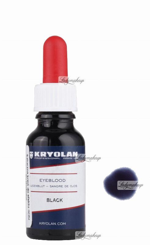 KRYOLAN - EYEBLOOD - 20 ml - Sztuczna krew do oczu - ART. 4100 - BLACK