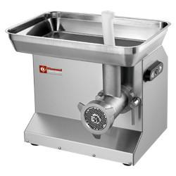 Maszynka do mielenia mięsa nastawna stal nierdzewna N  22 Ø4.5mm 200 kg/h 1470W 230V 500x415x(H)432/568mm