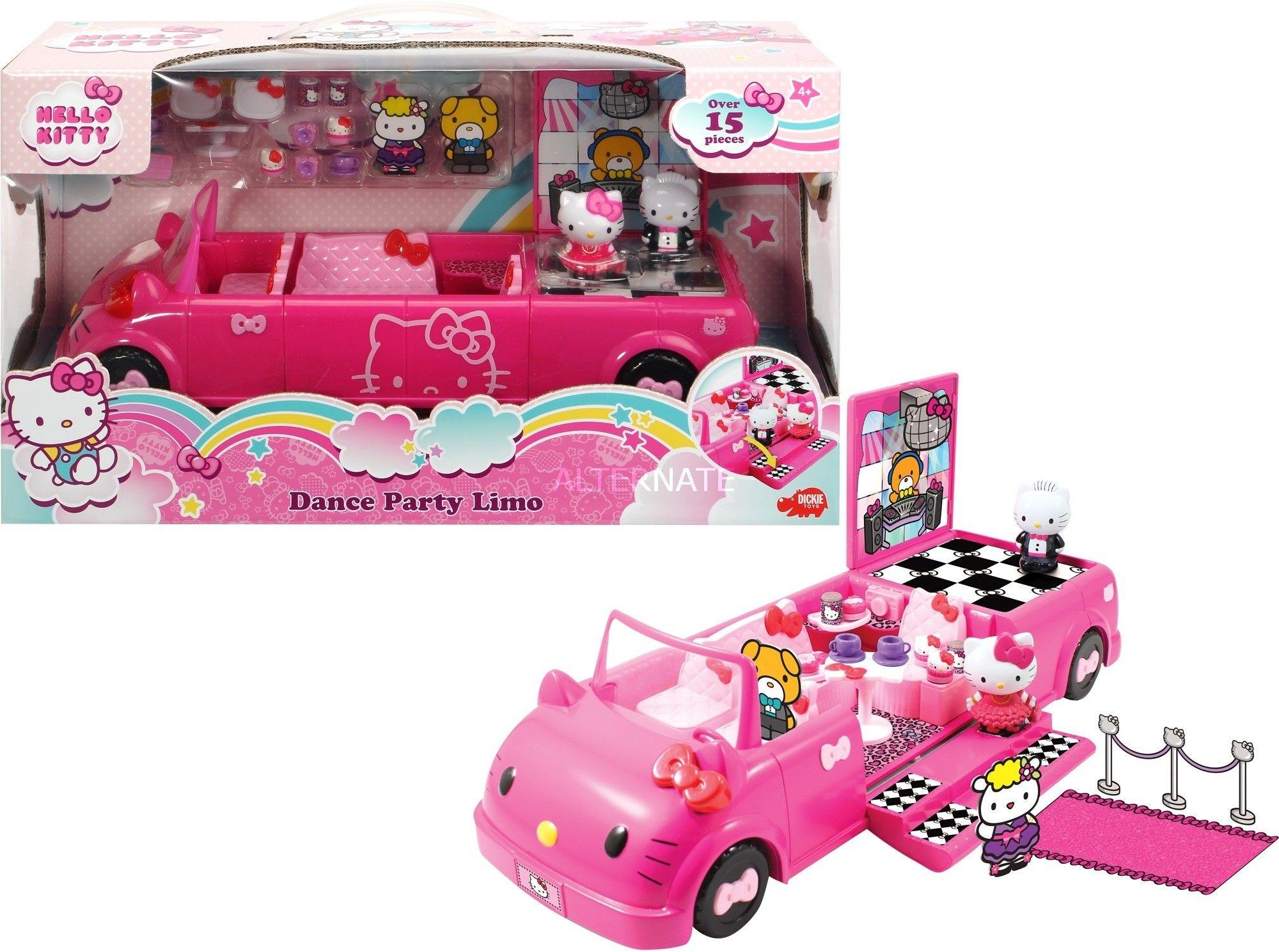 Hello Kitty - Taneczna limuzyna z figurkami 3247000