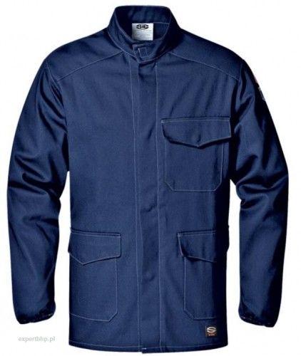 Bluza spawalnicza FLAME RETARDANT SIR w kolorze granatowym