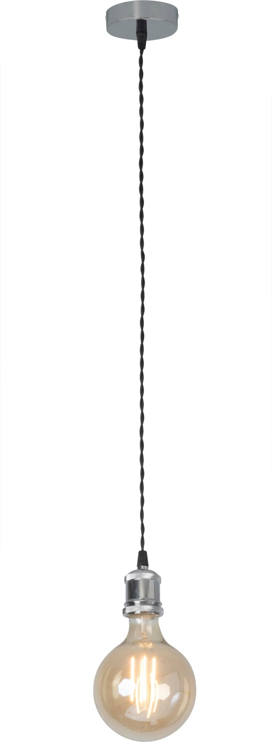 Lampex Uno CHROM 622/1 CHR lampa wisząca nowoczesna chrom E27 1x60W 13cm