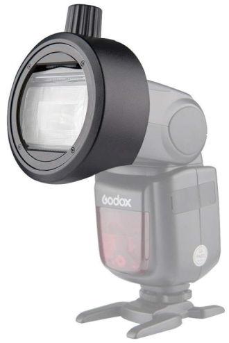 Godox S-R1 - uniwersalny adapter do okrągłych akcesoriów lamp reporterskich Godox S-R1