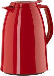 Emsa Termos z tworzywa sztucznego, czerwony, 1 litr