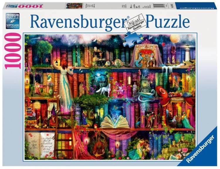 Puzzle 1000 Magia i czary - Ravensburger