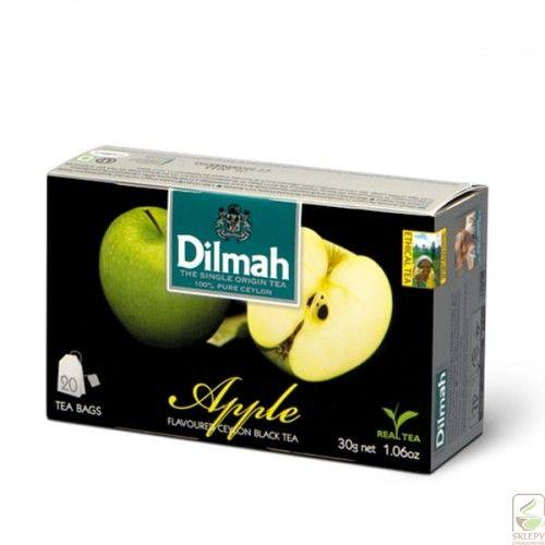 Dilmah Apple 20 torebek 1,5g herbata z zawieszką
