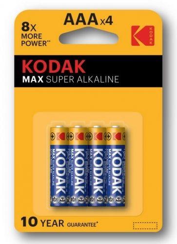 Baterie Kodak Max Super LR03 , AAA blister 4szt