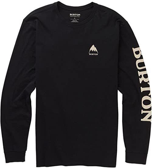 Burton Męska koszulka z długim rękawem Elite czarny czarny (True Black) XXS