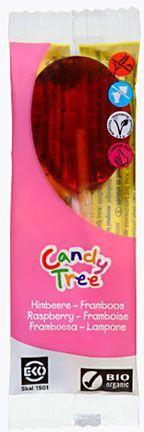 Lizaki o smaku malinowym bezglutenowe bio 13 g - candy tree