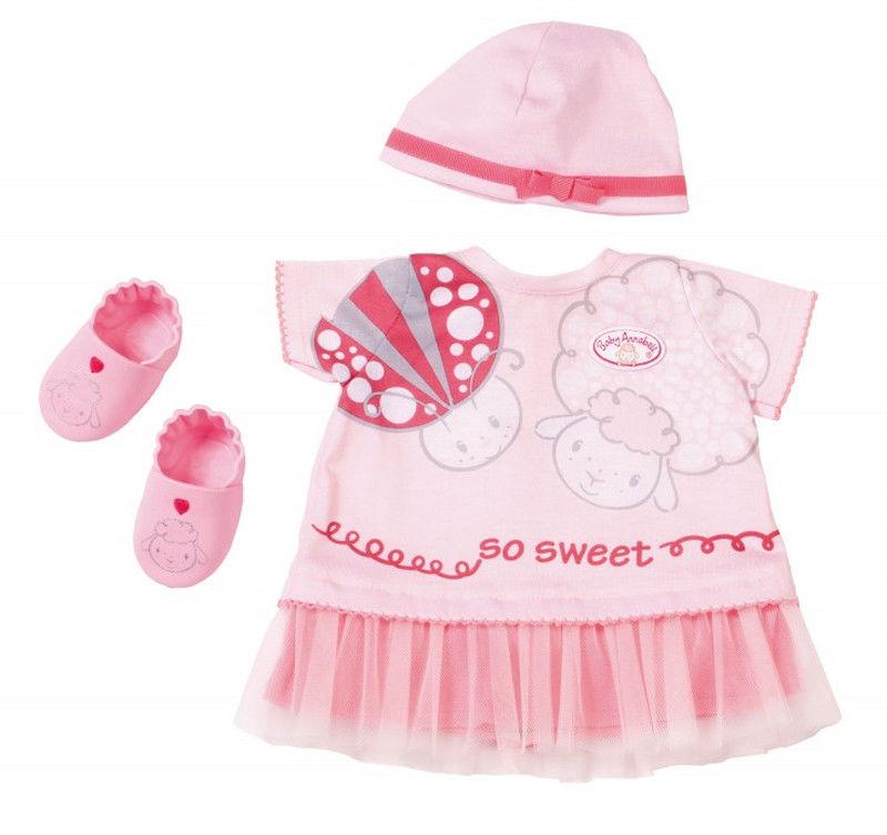 Baby Annabell - Ubranko Delux na lato z bucikami 700198