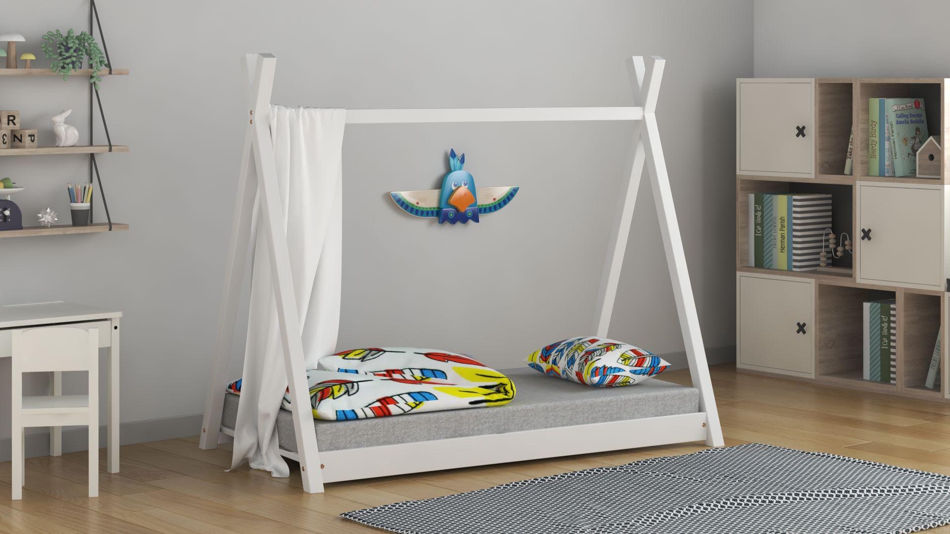 Łóżko pojedyncze dla dzieci Tippi