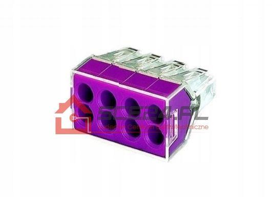 Szybkozłączki 8x2,5 20A ZŁĄCZKA KABEL 10 sztuk