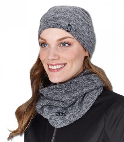 Zestaw czapka + komin JURA - Waldhausen - ash grey