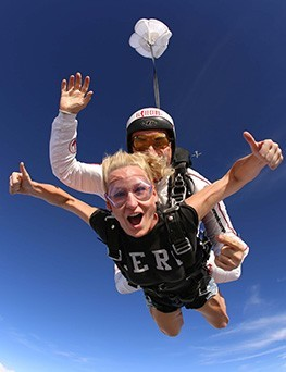 Skok ze spadochronem  Włocławek