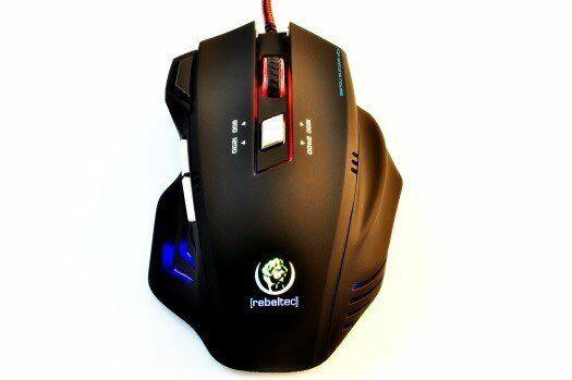 Rebeltec Gamingowa mysz optyczna USB PUNISHER 2