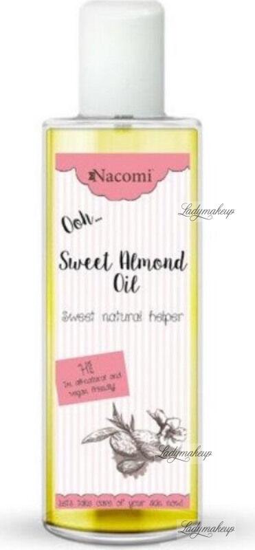Nacomi - Sweet Almond Oil - Naturalny olej ze słodkich migdałów - Rafinowany - 250 ml