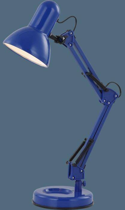 Globo lampa stołowa Famous 24883 metalowa niebieska
