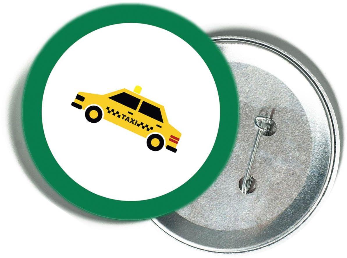 Przypinka samochodziki - taksówka - 1 szt.