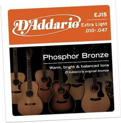 D''ADDARIO EJ15 - struny do gitary akustycznej