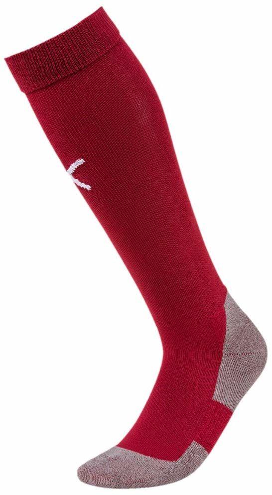 PUMA skarpety męskie Team LIGA Socks Core czerwony Cordovan/Puma White 39-42 (Herstellergröße: 3)