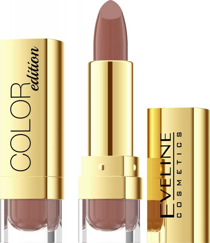 EVELINE - COLOR Edition Lipstick - Pomadka do ust - 728 - MOCHA KISS