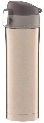 Kubek termiczny AMBITION 62271 z blokadą Glossy 420ml Złoty