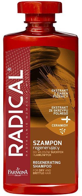 RADICAL Szampon regenerujący do włosów suchych i łamliwych 400ml