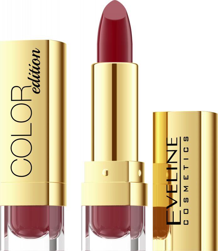 EVELINE - COLOR Edition Lipstick - Pomadka do ust - 729 - DEEP RED