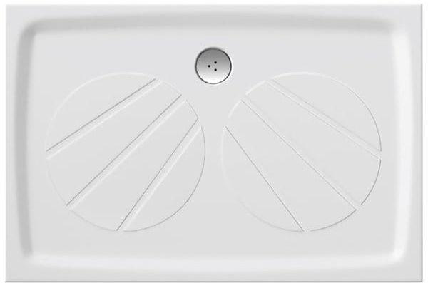 Ravak prostokątny brodzik konglomerat 100x80 cm Gigant Pro, biały XA03A401010