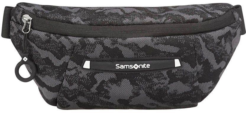 Saszetka torba biodrowa Samsonite Neoknit - camo black